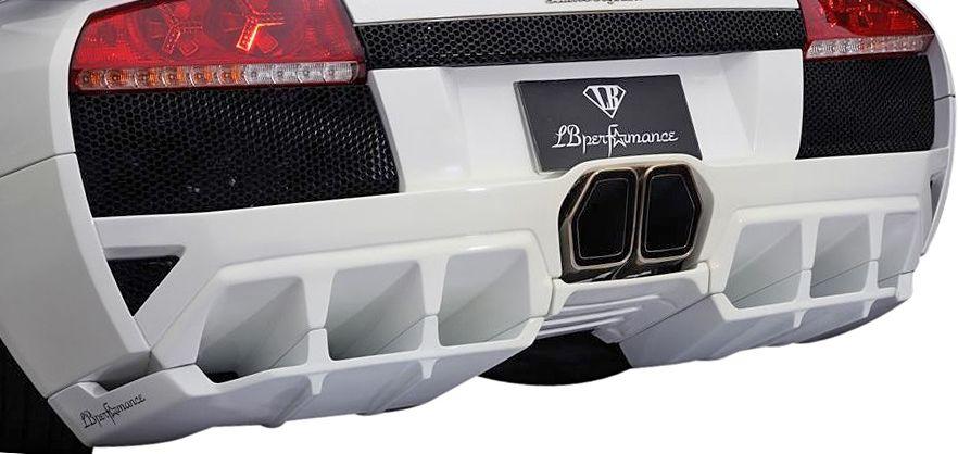 【M's】ランボルギーニ ムルシエラゴ LB PERFORMANCE エアロ / リア ディフューザー // リヤ R デフューザー / LB パフォーマンス / Lamborghini Murcielago Body kit FRP リバティウォーク