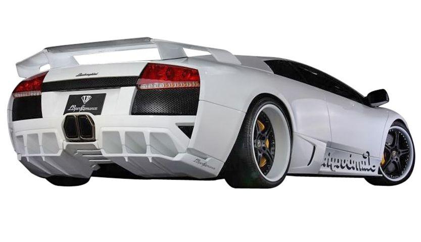【M's】ランボルギーニ ムルシエラゴ LB PERFORMANCE エアロ / リア バンパー // リヤ R スポイラー / LB パフォーマンス / Lamborghini Murcielago Body kit FRP リバティウォーク