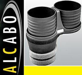 【M's】アウディ Q7 4L(2016y-)ALCABO ドリンクホルダー(ブラック カップタイプ)//社外品 アルカボ カップホルダー AUDI AL-M313B ALM313B