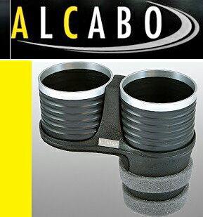 【M's】マセラティ ギブリ 3代目(2013y-)/クアトロポルテ 6代目(2013y-) ALCABO 高級 ドリンクホルダー(ブラック+リング)//Maserati アルカボ カップホルダー AL-B110BS ALB110BS