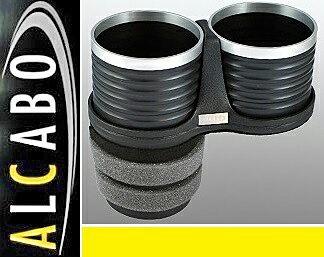 【M's】VW UP! アップ(2012y-)ALCABO 高級 ドリンクホルダー(ブラック+リング)//リア用 アルカボ カップホルダー フォルクスワーゲン VOLKSWAGEN AL-T119BS ALT119BS