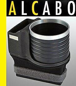 【M's】ポルシェ 911 997/987ボクスター/987ケイマン ALCABO 高級 ドリンクホルダー(ブラック+リング)//アルカボ カップホルダー PORSCHE Boxster Cayman AL-P201BS ALP201BS