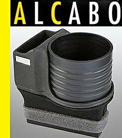 【M's】ポルシェ 911 997/987ボクスター/987ケイマン ALCABO 高級 ドリンクホルダー(ブラック)//アルカボ カップホルダー PORSCHE Boxster Cayman AL-P201B ALP201B