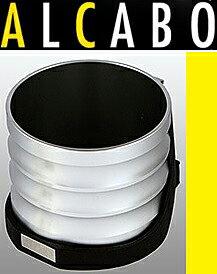 【M's】トヨタ プリウス(ZVW30)ALCABO 高級 ドリンクホルダー(シルバー)//TOYOTA PRIUS 30系 アルカボ カップホルダー インパネ対応 AL-T115S ALT115S