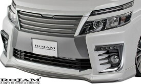【M's】トヨタ ヴォクシー 80系 前期 (2014/1-2017/6) ROJAM IRT フロントリップスポイラー//ZSグレード ZRR80W FRP ロジャム TOYOTA VOXY 80ヴォクシー ヴォクシー80 ボクシー 80ボクシー ボクシー80 80前期 前期80 エアロ フロントスポイラー リップ 21-fs-vo80zs1