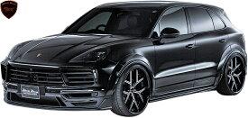 【M's】ポルシェ カイエン 9YA (2018y-) WALD Black Bison エアロ 3Pキット (F+S+R)//FRP製 ヴァルド バルド ブラックバイソン エアロパーツ エアロキット エアロセット Porsche CAYENNE 現行型 新型