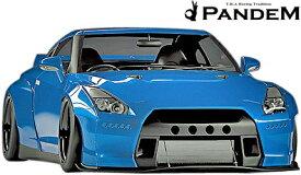 【M's】NISSAN R35 GT-R PANDEM ワイドボディキット 9点 (ダックテールウイング仕様)//カーボン CARBON TRA京都 パンデム ロケットバニー ロケバニ エアロ エアロキット セット フルキット フルエアロ ワイドフェンダー オーバーフェンダー ニッサン 日産 スカイライン GTR