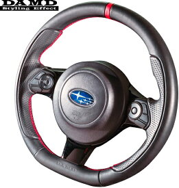 【M's】トヨタ 80系 ヴォクシー/ノア 60系 ハリアー GR SPORT (H29/2017.9-) DAMD スポーツステアリング (GRモデル対応)//SS358-Z(L) ダムド ハンドル ステアリング TOYOTA VOXY NOAH ボクシー 80ヴォクシー 80ノア 60ハリアー ブラックレザー レッドステッチ