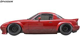 【M's】マツダ ロードスター MX-5 NA6CE/NA8C (1989y-1997y) PANDEM フロント オーバーフェンダー//FRP パンデム TRA京都 MAZDA ROAD STAR ユーノスロードスター ミアータ エアロ ワイドフェンダー カスタム リトラクタブル