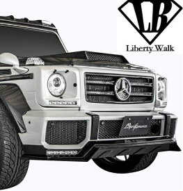 【M's】W463 AMG G63 (2012y-) Liberty Walk LB-WORKS フロントグリル//FRP製 リバティーウォーク リバティウォーク リバティー リバティ LB エアロ ラジエーターグリル ベンツ Gクラス ゲレンデ