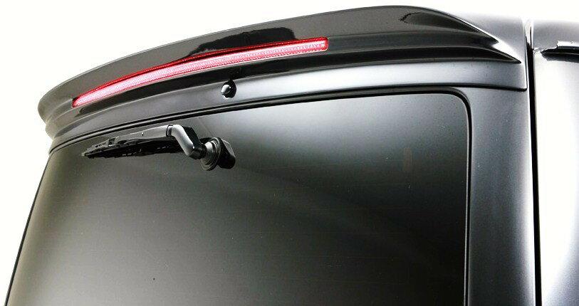 【M's】トヨタ HIACE VAN REGIUS ACE KDH/TRH 200型 H16,8〜 WALD Executive Line (バージョン1)ルーフスポイラー(FRP製) // TOYOTA ヴァルド バルド エグゼクティブライン FRP 未塗装 受注生産 高品質 新品