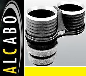【M's】LEXUS RC/RC F(2014y-)ALCABO ドリンクホルダー(ブラック+リング カップタイプ)//アルカボ カップホルダー 黒 アルミ レクサス クーペ AL-T108BS ALT108BS