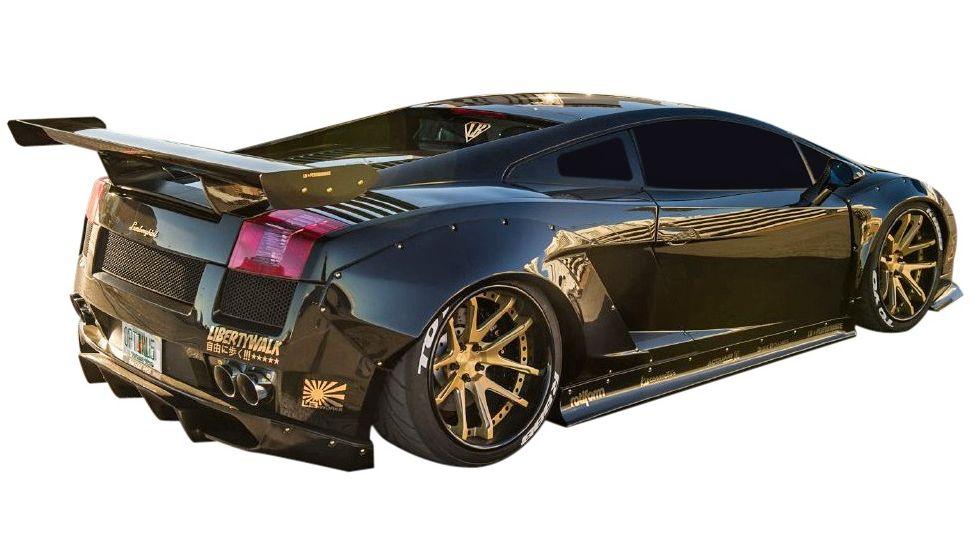 【M's】ランボルギーニ ガヤルド LB☆PERFORMANCE エアロ リア ウイング Ver.2 // R GT ウィング / Lamborghini Gallard LB-WORKS Body kit リバティウォーク 新品