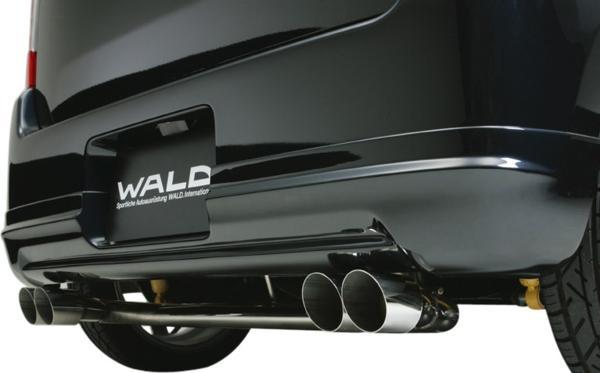 【M's】SUZUKI ワゴンR MH21S (15.9y-17.8y) WALD EXECUTIVE LINE D.T.M SPORTSマフラー (MAGNUM76W×2/オールステンレス) // スズキ WAGON-R ヴァルド エグゼクティブ スポーツマフラー 高品質 オーダー エムズ 大人気 新品