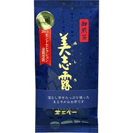 茶三代一のお茶 深むし上煎茶 美志露(みしろ)100g×3本