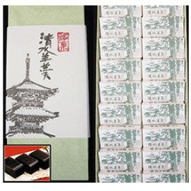 安来名物黒田千年堂の清水羊羹 30g×18ヶ(箱入り)