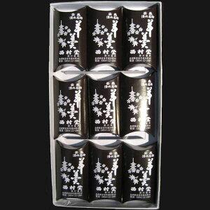 山陰名物(和菓子) 西村堂清水羊羹一口サイズ(40g×9個)