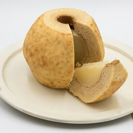 9月30日以降発送 スイーツ ぱにーにのバウムクーヘン 鳥取県産二十世紀梨をまるごと使った「 天女の梨クーヘン」