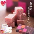 和菓子屋さんの魅惑のいちご生チョコ5ピース