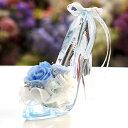 プリザーブドフラワー ギフト プリンセスヒール 誕生日プレゼント 電報 結婚式 結婚記念日 ガラスの靴 ハイヒール プロポーズ 女性 ブリザードフラワー 花 フラワー ディズニー お祝い 結婚祝い   ブリザード フラワーギフト 彼女