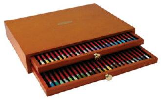 48种德温特彩色粉笔铅笔伍德箱安排水溶性彩色铅笔/水彩彩色铅笔DERWENT