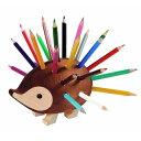 ポイント5倍!!《送料無料》 KOH-I-NOOR コヒノール(コイノア) ハリネズミ色鉛筆スタンド(小) 24色セット 520404