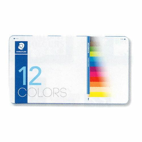 【メール便可】 ステッドラー ノリスクラブ色鉛筆 メタルケース入り 12色セット 【ステッドラー】【STAEDTLER】【色鉛筆】【色えんぴつ】【幼児用】【子ども用】【入学】【入園】