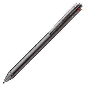 【メール便可】 ロットリング フォーインワン 4in1 「ボールペン黒+ボールペン赤+ボールペン青+シャープペンシル0.5mm」 グラファイト(SO 502 700F) 【複合筆記具】【多機能ペン】