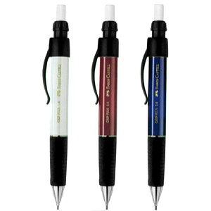 ファーバーカステル ペンシルデザインシリーズ グリッププラス1314 シャープペンシル 1.4mm (ホワイト/レッド/ブルー) 【FABER-CASTELL】【グリッププラスシャープペンシル】【太