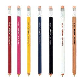 【メール便可】 スリップオン シエラ 木軸シャープペン Lサイズ (0.5mm芯) SLIP-ON/SIERRA/木製シャープペンシル/鉛筆のようなシャープペン/手帳用/スリム/ロングサイズ