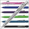 Faber 卡斯特握 2011 机械铅笔 0.7 m m,圆珠笔 (黑、 亚光黑、 白色、 银色、 蓝色光的蓝色粉红色)
