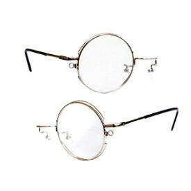 コアデ コスプレサポート モノクル・2(銀)(右/左)【コスプレ用小物】【メガネ】【眼鏡】【めがね】【ハロウィン】