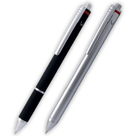 【メール便可】 ロットリング トリオペン 「ボールペン黒+ボールペン赤+シャープペンシル0.5mm」 ブラック(SO 502 710)・シルバー(SO 502 715) 【複合筆記具】【多機能ペン】
