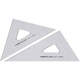 【メール便可】 ステッドラー 三角定規 マルス 製図用三角定規 32cm/厚2.5mm (564 32TN) (製図ペン両用/45度60度ペア/インクエッジつき/目盛なし・鏡面仕上げ) 【マルス製図