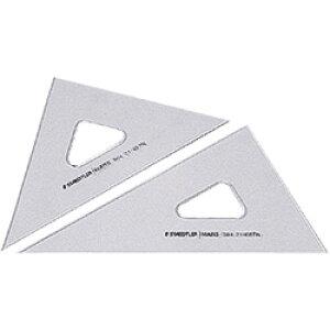 【メール便可】 ステッドラー 三角定規 マルス 製図用三角定規 16cm/厚2.5mm (564 16TN) (鉛筆・製図ペン両用/45度60度ペア/インクエッジつき/目盛なし・鏡面仕上げ) 【マル
