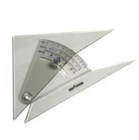 メール便可。 ドラパス 自在勾配定規 15cm (13-906)勾配三角定規/勾配定規/建築士試験アイテム/製図用品