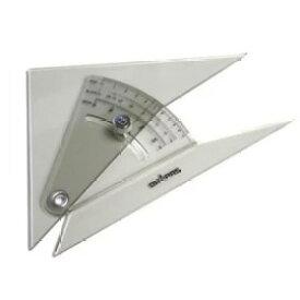 メール便可。 ドラパス 自在勾配定規 20cm (13-904)勾配三角定規/勾配定規/建築士試験アイテム/製図用品