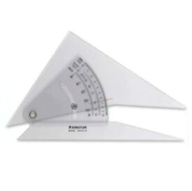 メール便可。 ステッドラー マルス 勾配三角定規 20cm (964 51-8) STAEDTLER/マルス勾配三角定規/勾配定規/製図用品/建築士試験アイテム