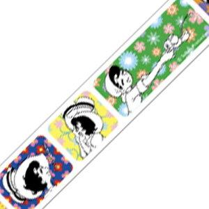 【12個までメール便可】mt マスキングテープ 手塚キャラクターズ 1巻入りパック リボンの騎士×フラワーパターン (MTTOPR02) 18mm×7m