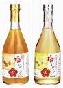 【紀州南高梅使用】さわやか梅シロップ・完熟梅シロップのセット(590g×各1本づつ)
