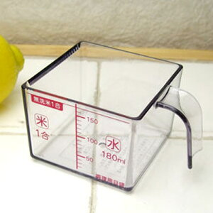 SALUS セーラス 米カップ /AS樹脂,計量カップ,お米の計量,無洗米計量,1合,キッチン小物,キッチン用品,[kit]