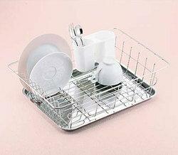 SALUS(セーラス)水切りトレーセット /ステンレス製,キッチン用品,台所用品,シンク周り,キッチン収納,みずきりとれー[kit]