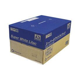 王子製紙 コピー用紙スーパーホワイトライラック SWLA3 A-3 500枚x5冊