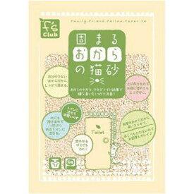 【zoo】ペットライブラリー固まるおからの猫砂 7L