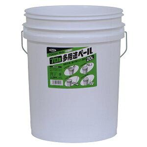 アサヒペン プロ用多用途ペール TB−7白 20L