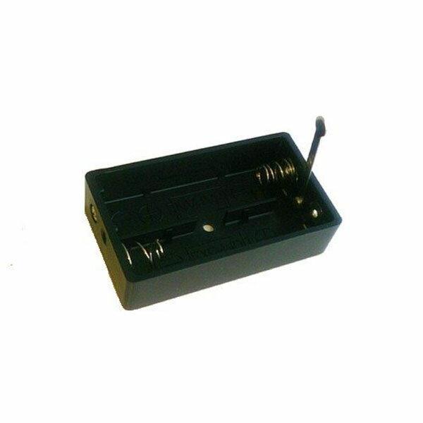 ELPA 電池ボックス 単3×2本用 スイッチ付き UM?S032NH【ゆうメール対象商品:日時指定不可:代引き不可】