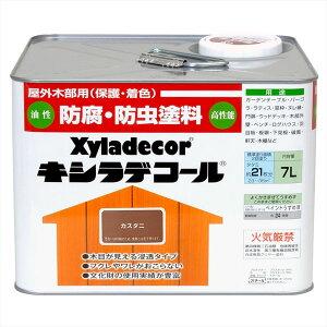 大阪ガスケミカル キシラデコール カスタニ 7L