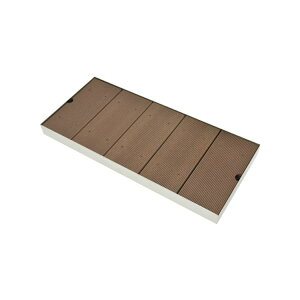 ガオナ 屋外用パン ペット用 (足洗い場 すのこ 滑り止めつき 樹脂木) GA-RM001