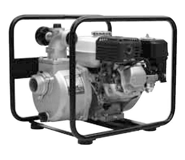 工進 エンジンポンプ ハイデルスポンプ 吐出口2つ 4サイクルエンジン KH-50GT