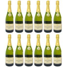 カヴァ グランリベンサ ブリュット 750ml 12本セット (スペイン スパークリングワイン 辛口)【 あす楽 】【 スパークリングワイン 辛口 白 スペイン 】